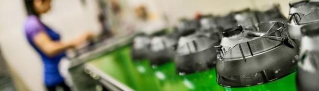 производство пластика на заводе Полимердеталь